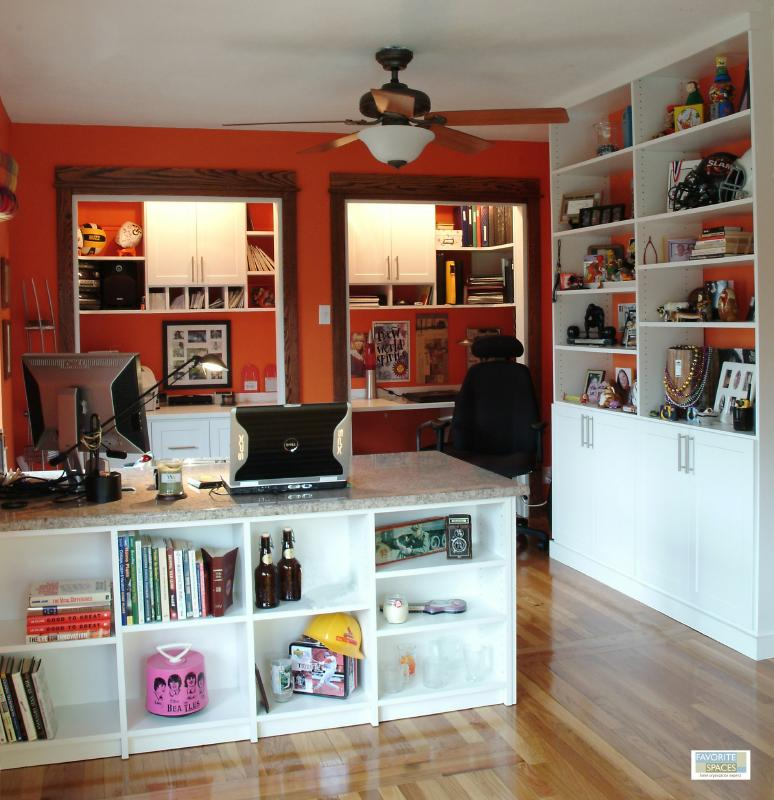 Home Office Solutions Combine The Ambiance Of Home With